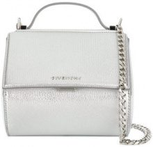 Givenchy - mini Pandora Box chain bag - women - Goat Skin - One Size - Metallizzato