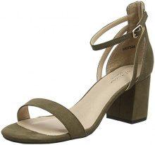 New Look Values, Scarpe con Cinturino Alla Caviglia Donna, Green (Dark Khaki 34), 40 EU