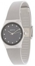 Bering - Orologio 'Classic' - women - acer saccharinum (sugar maple) extract/stainless steel - OS - Nero