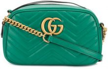 Gucci - Borsa a tracolla 'GG Marmont' - women - Leather - OS - GREEN