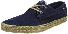 Pepe Jeans London Sailor Deck, Espadrillas Uomo, Blu (Dk Denim), 42 EU