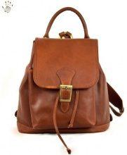 Zaini Dream Leather Bags Made In Italy  Zaino Donna In Pelle Colore Marrone - Pelletteria Toscana Made I