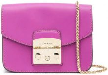 Furla - mini Metropolis bag - women - Leather - OS - PINK & PURPLE