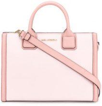Karl Lagerfeld - Borsa Tote 'Karl Klassik' - women - Leather - One Size - Rosa & viola