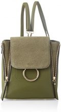 SwankySwans Tina Backpack Bag - Borse a tracolla Donna, Verde (Olive), 11x23x21 cm (W x H x L)
