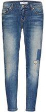 FIND Eliana Jeans Slim Donna, Blu (Natural X Wash), W38/L32 (Taglia Produttore: XXX-Large)
