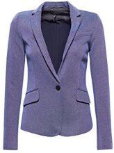 ESPRIT Collection 038eo1g002, Blazer Donna, Blu (Dark Blue 405), 44 (Taglia Produttore: 38)