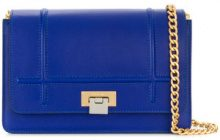 Visone - Borsa a spalla 'Lizzy' - women - Leather - OS - BLUE