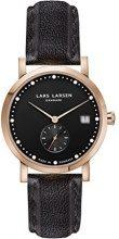 Lars Larsen LW37 da donna Orologio da donna con Display analogico e in acciaio inox cinghia 137RBBL