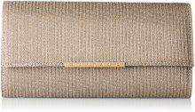 Buffalo Bag Bwg-05 Glitter - Pochette da giorno Donna, Braun (Antique 03), 4x13x25 cm (B x H T)