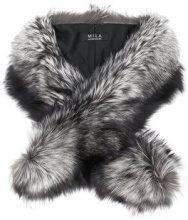 Cara Mila - Stola 'Duchess' - women - Fox Fur - OS - GREY