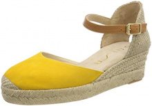Unisa Cisca_18_KS, Espadrillas Donna, Giallo (Yellow), 36 EU