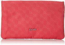 Joop! Nylon Cornflower Mira Cosmeticpouch Mhz - Pochette da giorno Donna, Pink (Coral), 1x14x22 cm (B x H T)