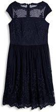 ESPRIT Collection 067eo1e030, Vestito Donna, Blu (Navy 400), X-Small