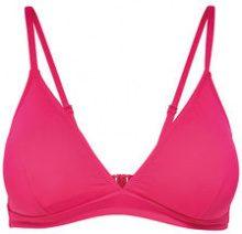 ONLY Solid Bikini Top Women Pink
