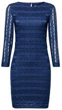edc by Esprit 117cc1e012, Vestito Donna, Blu (Petrol Blue 450), 40