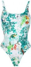 Lygia & Nanny - Hapuna printed swimsuit - women - Polyamide/Spandex/Elastane - 42, 38, 40, 44, 46 - Blu