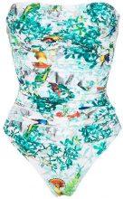 Lygia & Nanny - Melissa strapless swimsuit - women - Polyamide/Spandex/Elastane - 38, 40, 42, 44, 46, 48 - BLUE