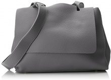 SwankySwans Kelly 2 In 1 Shoulder Handbag - Borse a spalla Donna, Grigio (Dark Grey), 12x24x30 cm (W x H x L)