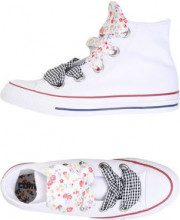 CONVERSE ALL STAR CTAS HI BIG EYELET FLOWERS DETAILS - CALZATURE - Sneakers & Tennis shoes alte - su YOOX.com