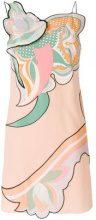 Emilio Pucci - Vestito con pannelli stampati - women - Silk - 38, 42, 40, 44 - PINK & PURPLE