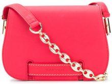 Carven - Borsa a spalla - women - Leather/Cotone - OS - Rosa & viola