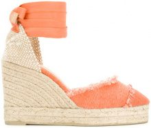 Castañer - Espadrillas 'Catalina' - women - Canvas/Leather/rubber - 35, 40, 41 - YELLOW & ORANGE