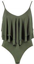 Emma Double Layer Frill Bodysuit