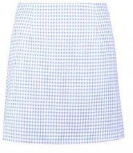 Faith Pastel Gingham Check Woven Mini Skirt