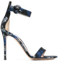 Gianvito Rossi - Sandali 'Portofino 105' - women - Polyester/Leather - 35, 36, 37, 39, 41 - BLUE