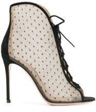 Gianvito Rossi - Stivali con lacci - women - Leather/Polyester - 36, 36.5, 37, 37.5, 38, 39, 39.5, 40, 41 - BLACK