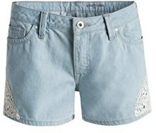 edc by Esprit mit Spitzendetails, Shorts Donna, Blau (BLUE LIGHT WASH 903), W29 (Tallia Produttore: W29)