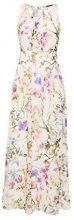 ESPRIT Collection 058eo1e029, Vestito Donna, Bianco (Off White 110), 44 (Taglia Produttore: 38)