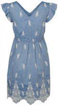 MAMA.LICIOUS Chambray Maternity Dress Women Blue