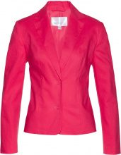 Blazer in misto lino (Fucsia) - bpc selection