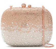 Isla - embellished clutch - women - Polyester/Glass Fiber - OS - PINK & PURPLE