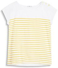 edc by Esprit 057cc1k019, T-Shirt Donna, Giallo (Sunflower Yellow), 36 (Taglia Produttore: Small)