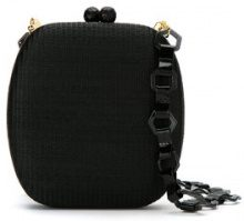 Serpui - straw clutch - women - Straw - OS - BLACK