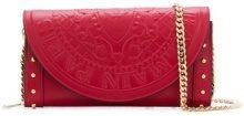 Balmain - Borsa Clutch 'Pgam' - women - Leather - One Size - RED