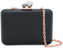 Sophia Webster - Clutch 'Minaudière' - women - Calf Leather - One Size - BLACK