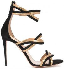 - Aquazzura - Moon Ray sandals - women - Leather - 38, 39, 40 - Nero