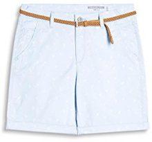edc by Esprit 067cc1c009, Pantaloncini Donna, Blu (Light Blue Lavender 445), 34