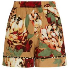 Y.A.S Mixed Shorts Women Brown