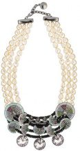 Camila Klein - Conceito embellished necklace - women - metal - OS - unavailable