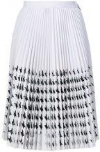 MSGM - Camicia a pieghe - women - Polyester - 40, 42 - WHITE