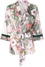 Blugirl - Kimono con cintura - women - Polyester - 42, 46 - MULTICOLOUR