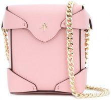 Manu Atelier - Borsa a tracolla 'Pristine Mini' - women - Calf Leather - One Size - PINK & PURPLE