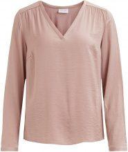 VILA V-neck Long Sleeved Top Women Pink