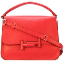 Tod's - Borsetta 'Double T' - women - Leather - OS - RED