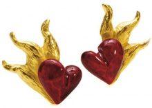 Drago rocciaè Design donna-Orecchini IN argento dorato senza D IN 21/AGG